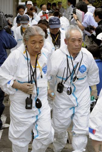 Japonci se mohou podívat do svých zamořených domovů