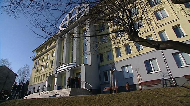 Budova Vysoké školy podnikání v Ostravě