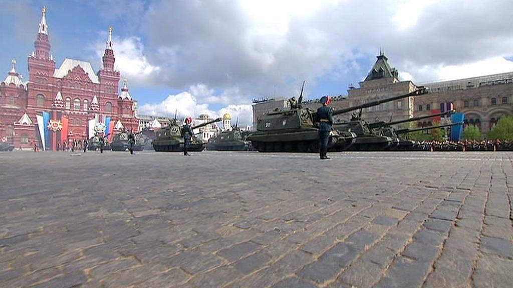 Armádní přehlídka v Moskvě