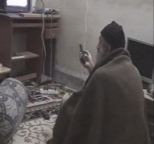 Obrázky z bin Ládinova domácího videa