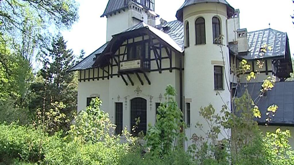 Památkově chráněná vila LIL
