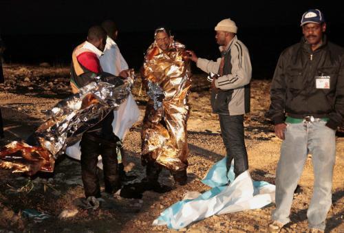 U Lampedusy ztroskotala loď s uprchlíky