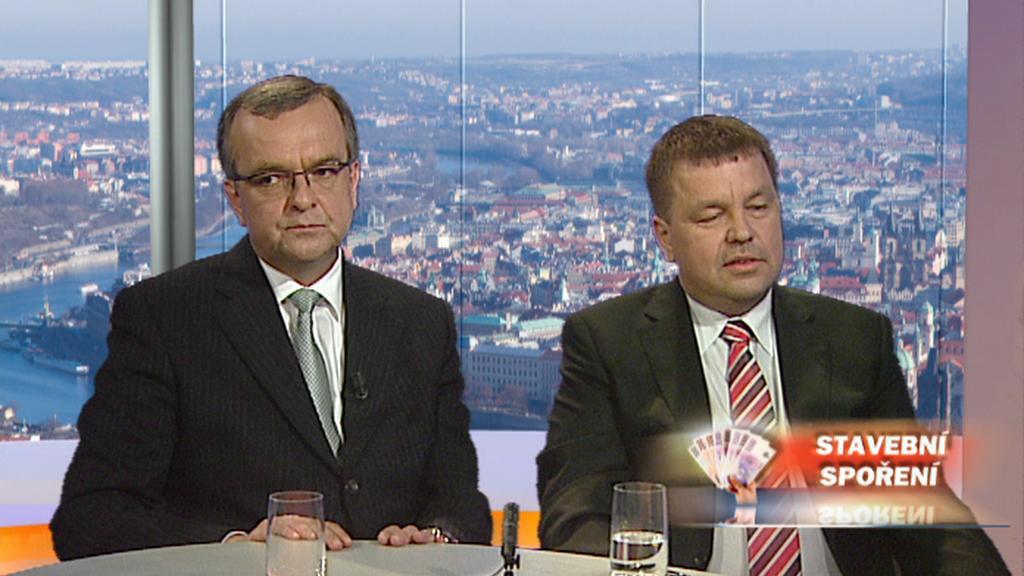 Miroslav Kalousek a Petr Tluchoř
