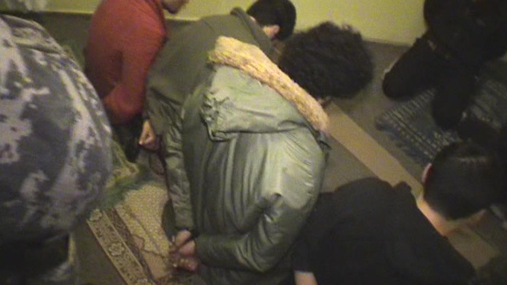 Zatčení muslimové