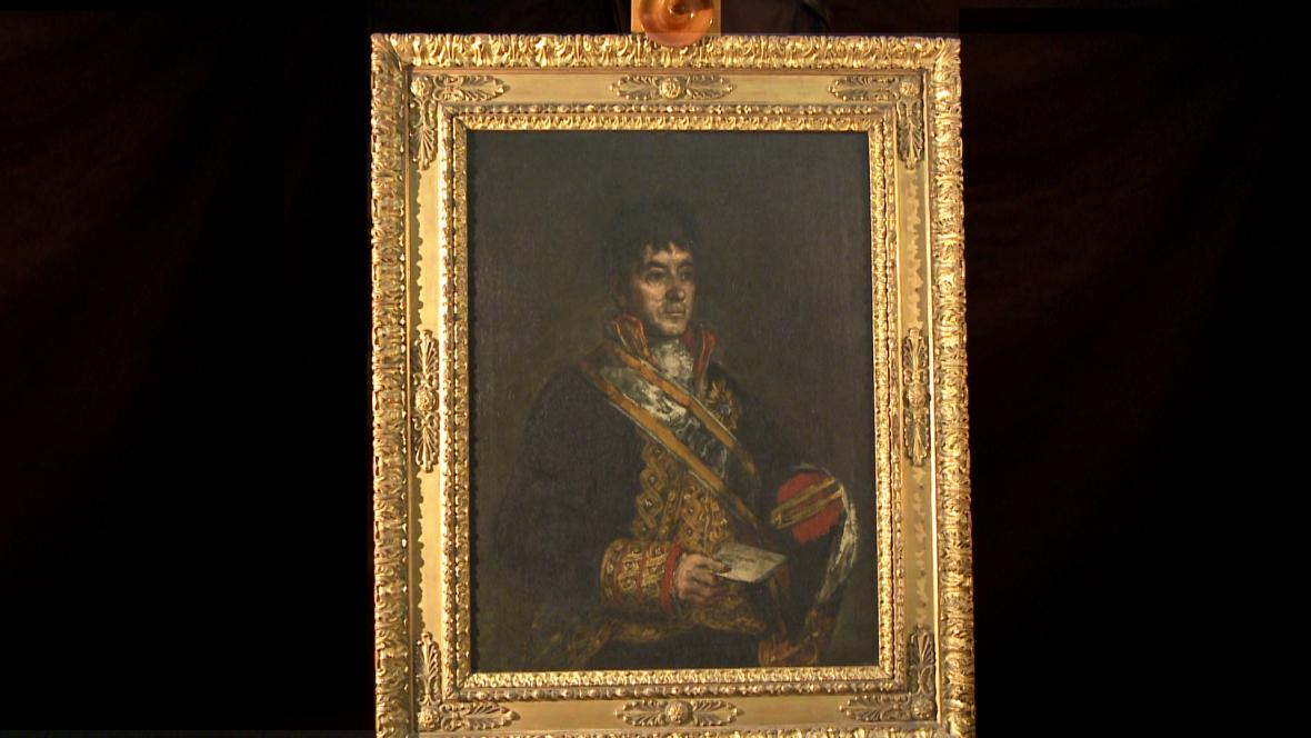 Francisco Goya / Don Miguel de Lardizábal