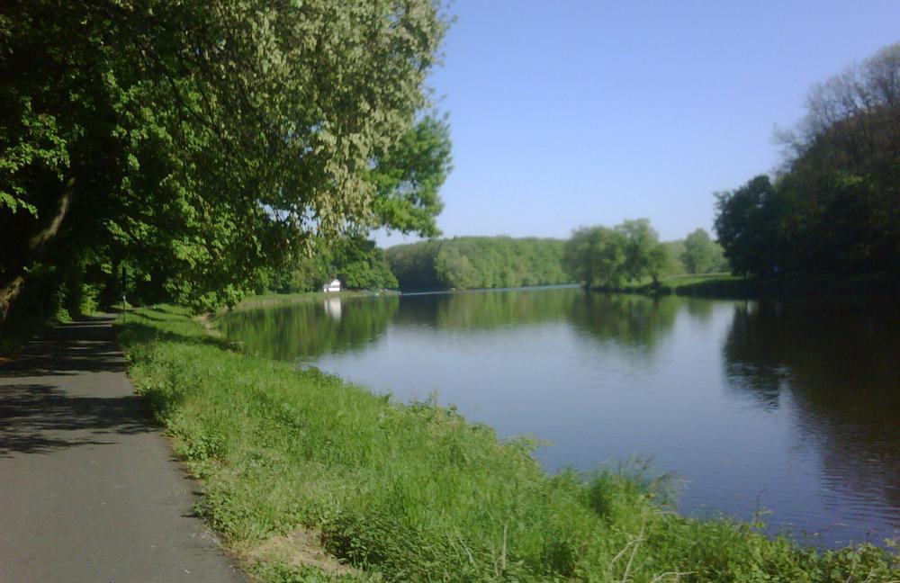 Labe nedaleko Poděbrad
