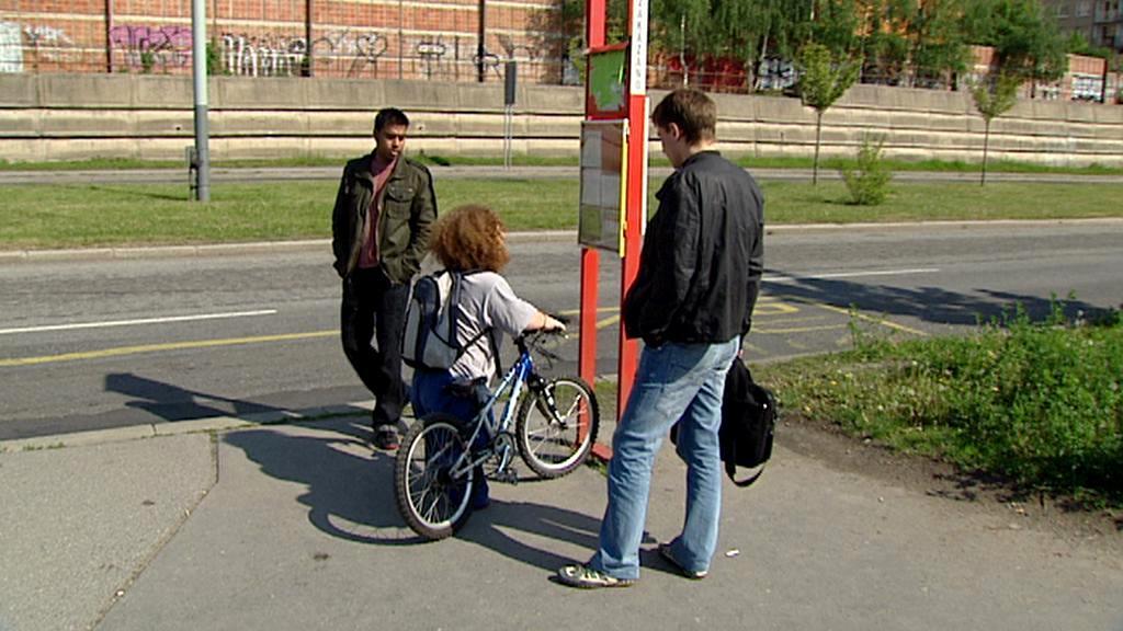 Kolo místo invalidního vozíku