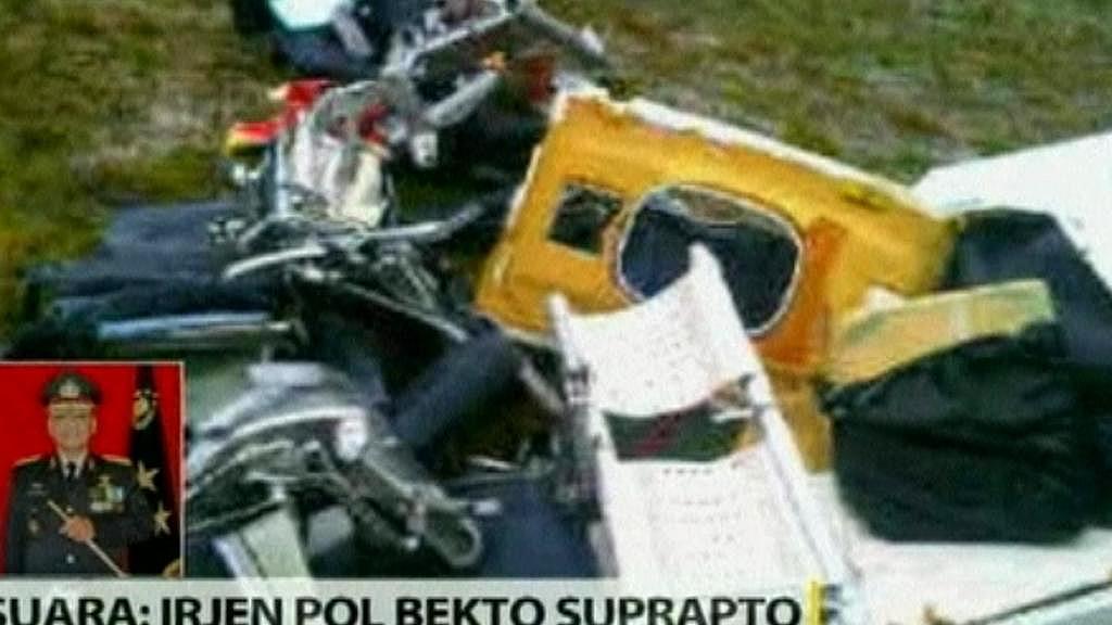 Nehoda letadla v Indonésii