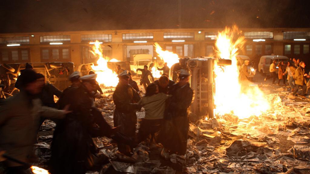 Útok na vydavatelství Axela Springera