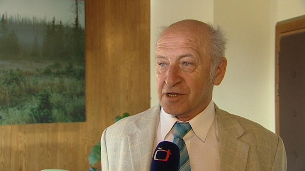 Ředitel NP Šumava Jan Stráský