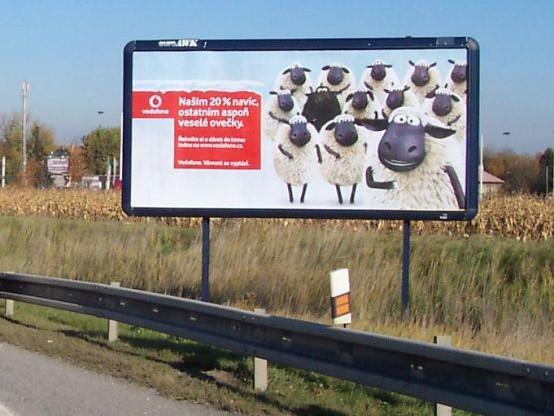 Billboard Vodafonu