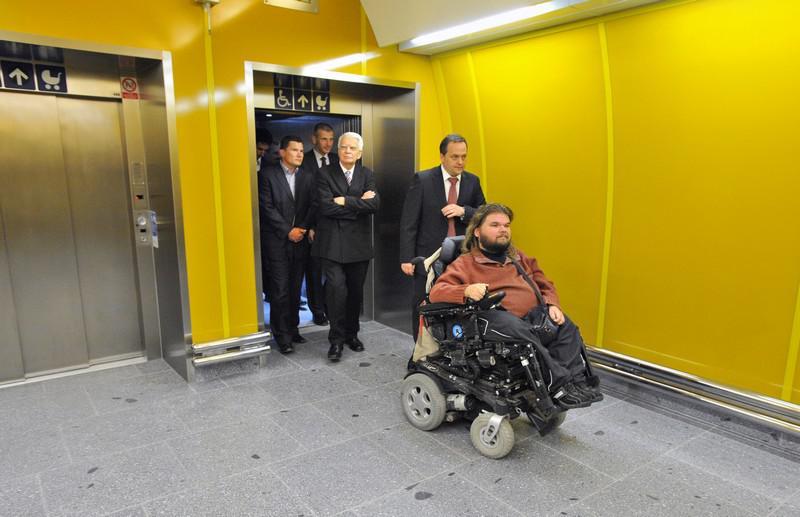 Výtah do metra