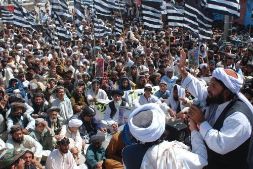 Pákistánské protesty proti zabití bin Ládina