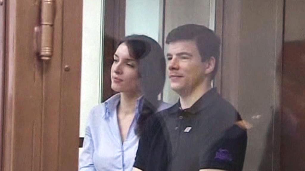 Nikita Tichonov a Jevgenija Chasisová