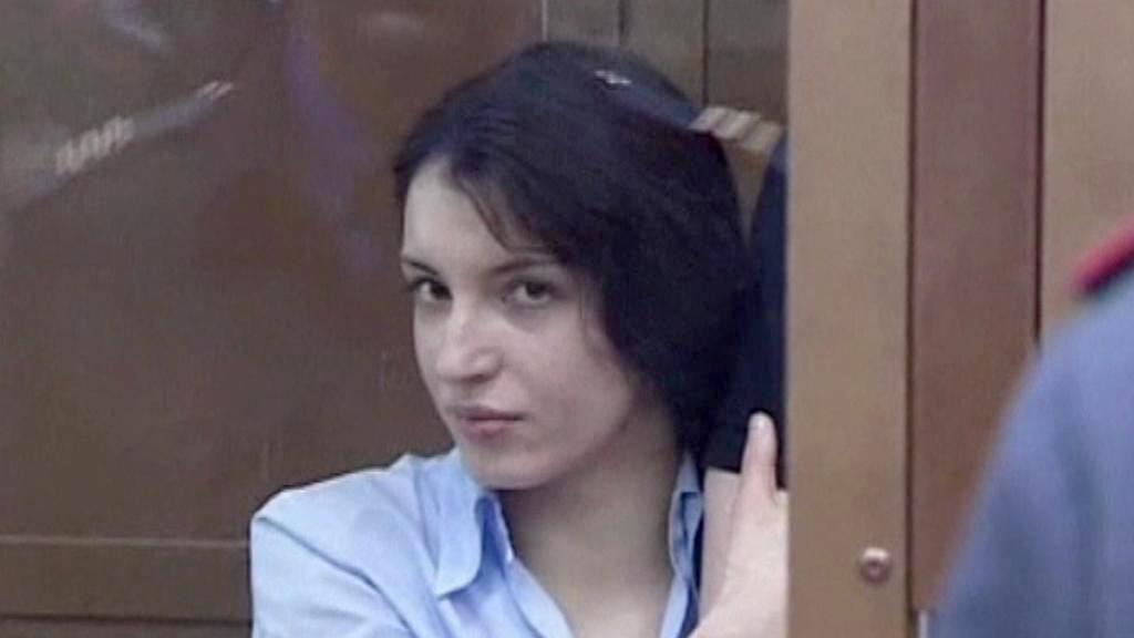 Jevgenija Chasisová před soudem