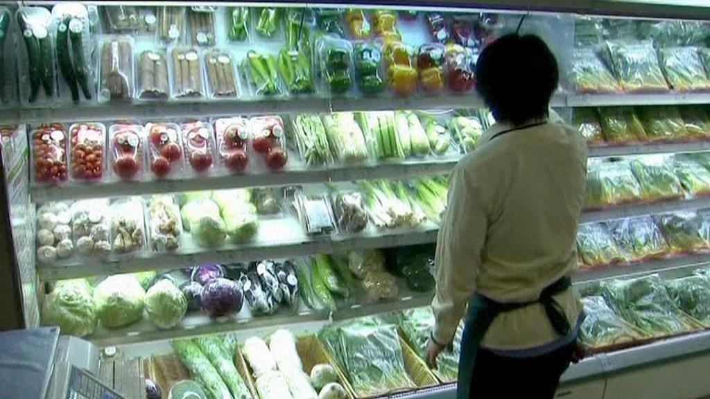 V obchodě se zeleninou