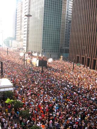 Gay Pride v Sao Paulu