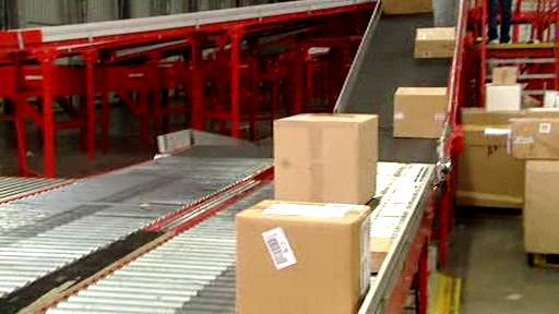 Odbavování balíků
