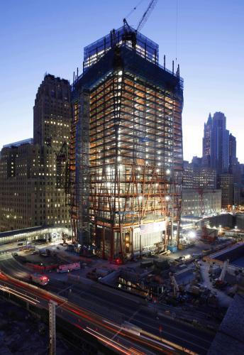 Na Ground Zero začíná růst Věž svobody