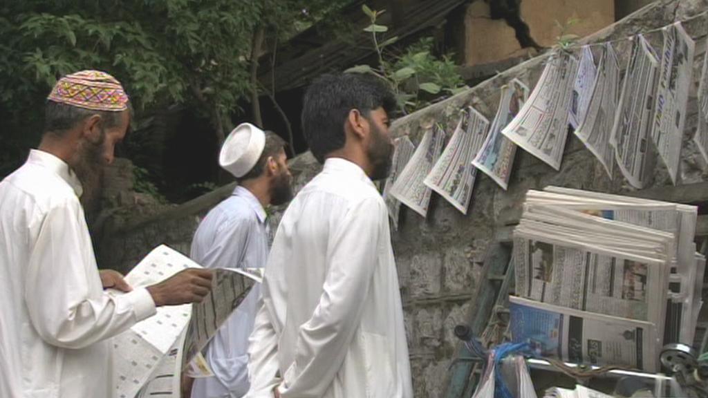 Zprávy o Usámovi bin Ládinovi v tisku