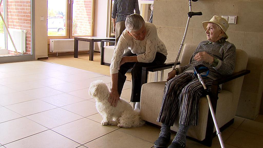 Pacienti v Alzheimercentru
