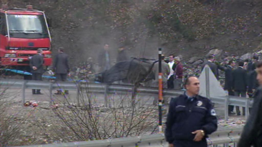 Místo teroristického útoku v Turecku