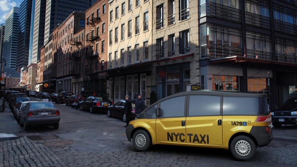Nový newyorský taxík