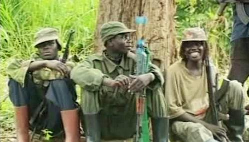 Povstalci v Kongu