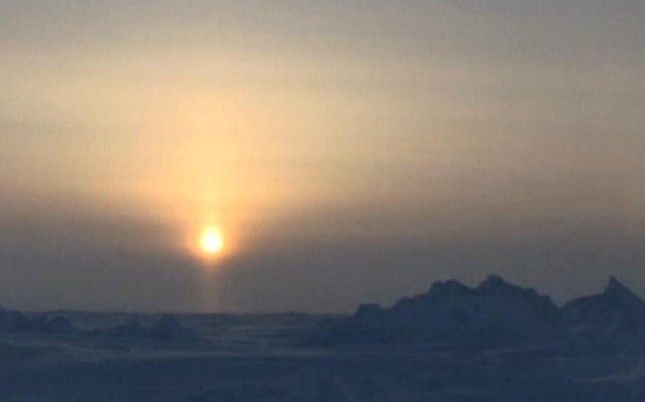 Slunce v Arktidě