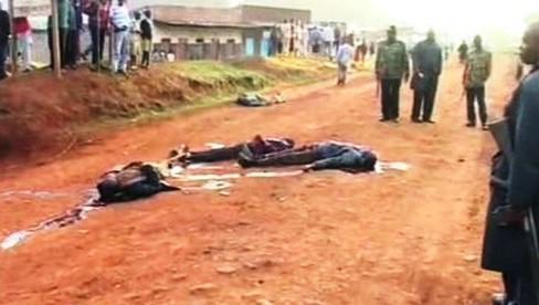 Násilí v Keni