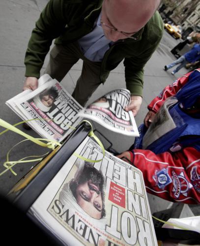 Americký tisk o smrti Usámy bin Ládina