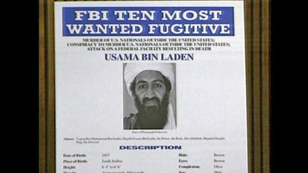 Nejhledanější terorista Usáma bin Ládin