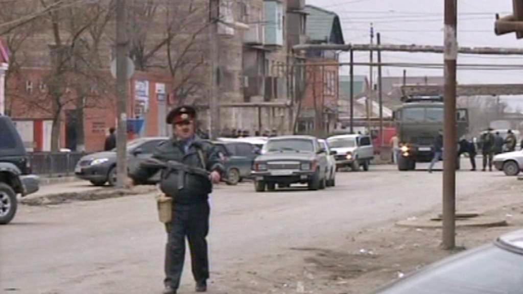 Ruské bezpečnostní síly v Dagestánu