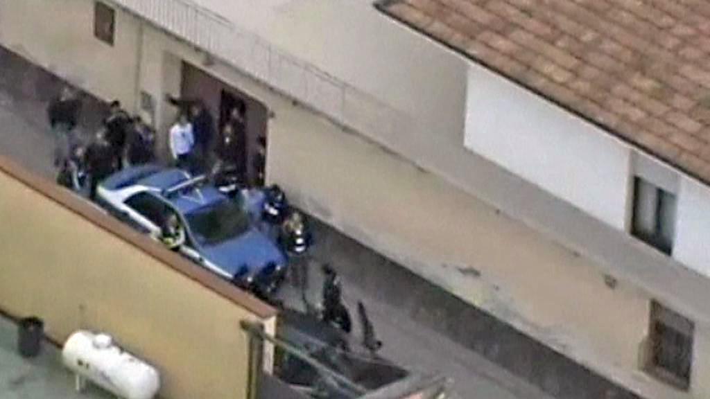Zatčení italského mafiánského bosse