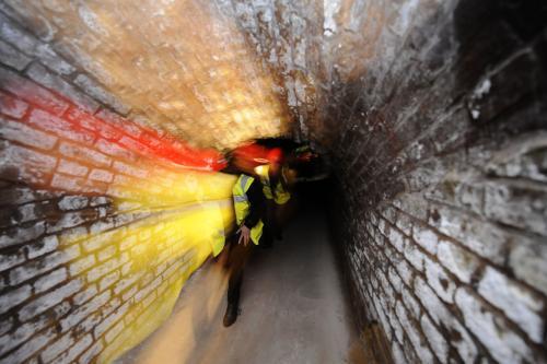 Technologické tunely pod ND
