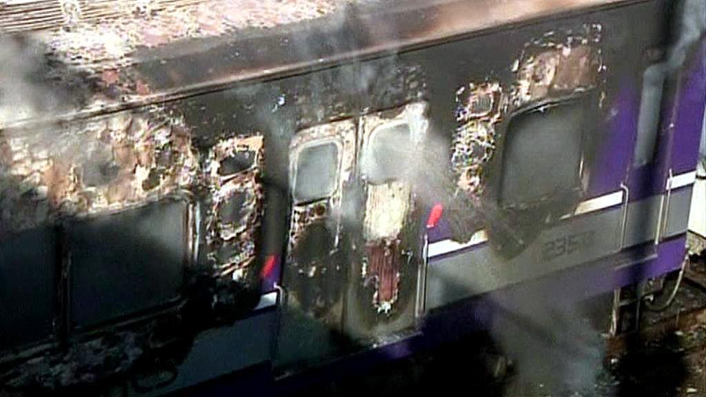 Zapálený vagón