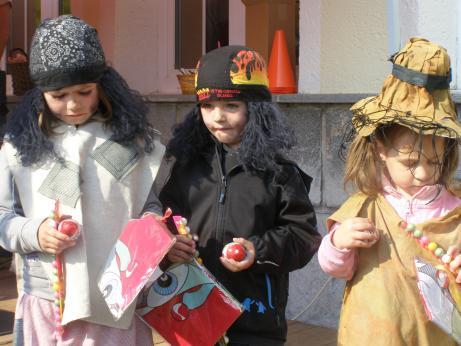 Malé čarodějnice ve Špindlerově Mlýně