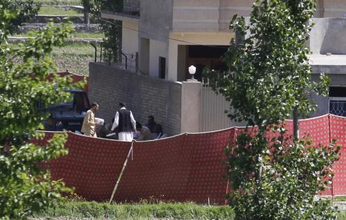 Dům, kde se údajně skrýval Usáma bin Ládin