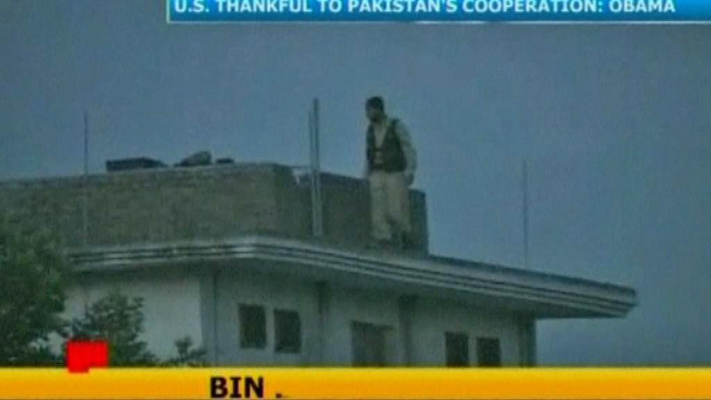 Pákistánská televize o smrti bin Ládina
