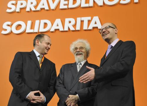 Michal Hašek, Valtr Komárek a Bohuslav Sobotka