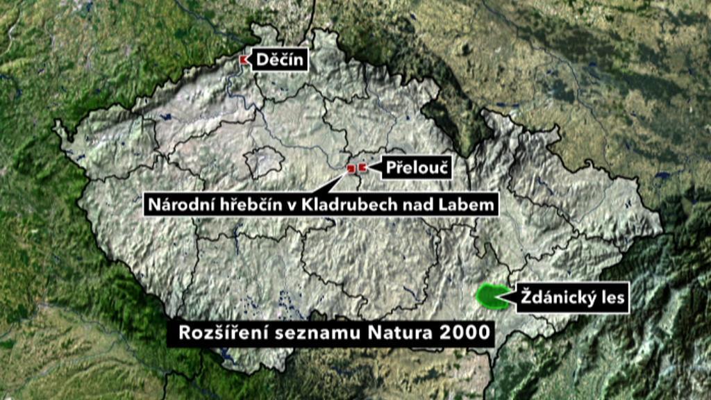 Rozšíření seznamu Natura 2000