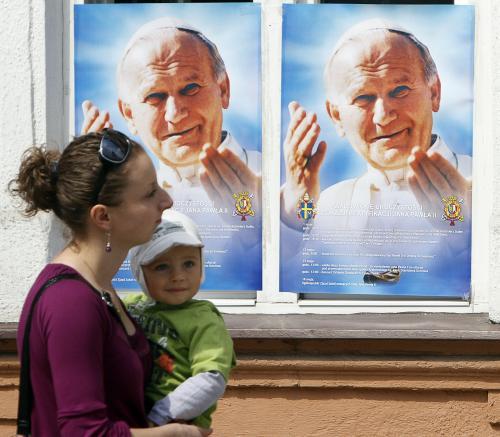 Polské Wadowice se chystají na blahořečení Jana Pavla II.