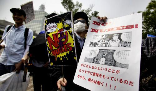 Demonstrace v Tokiu