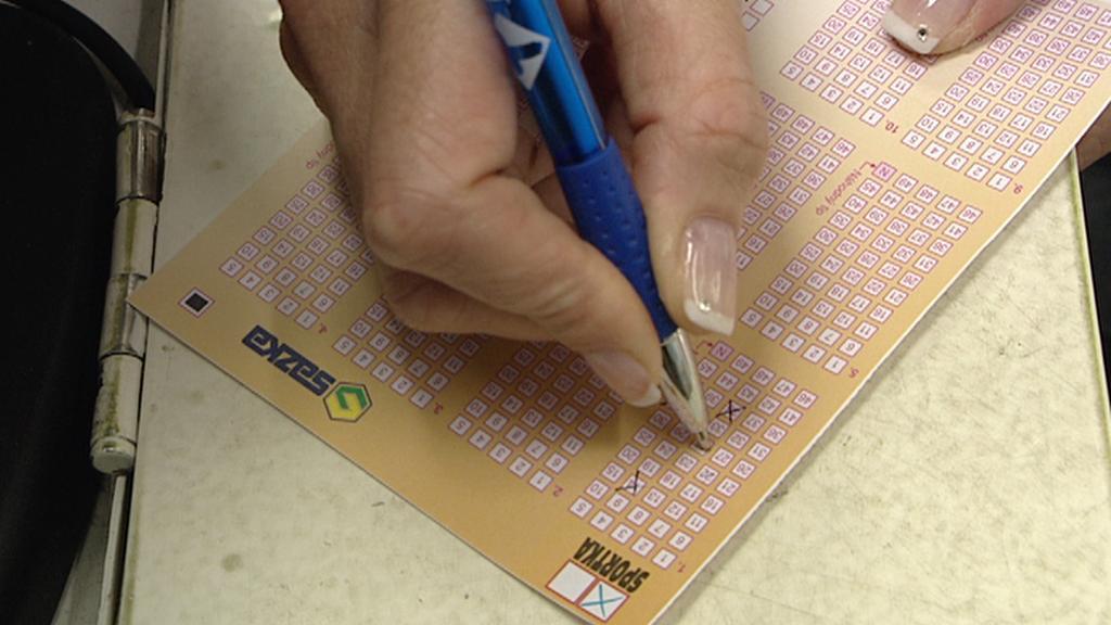 Vyplňování sázkového tiketu