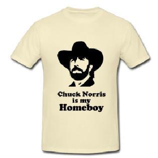 Tričko s Chuckem Norrisem