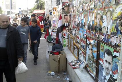 Napětí v syrských ulicích