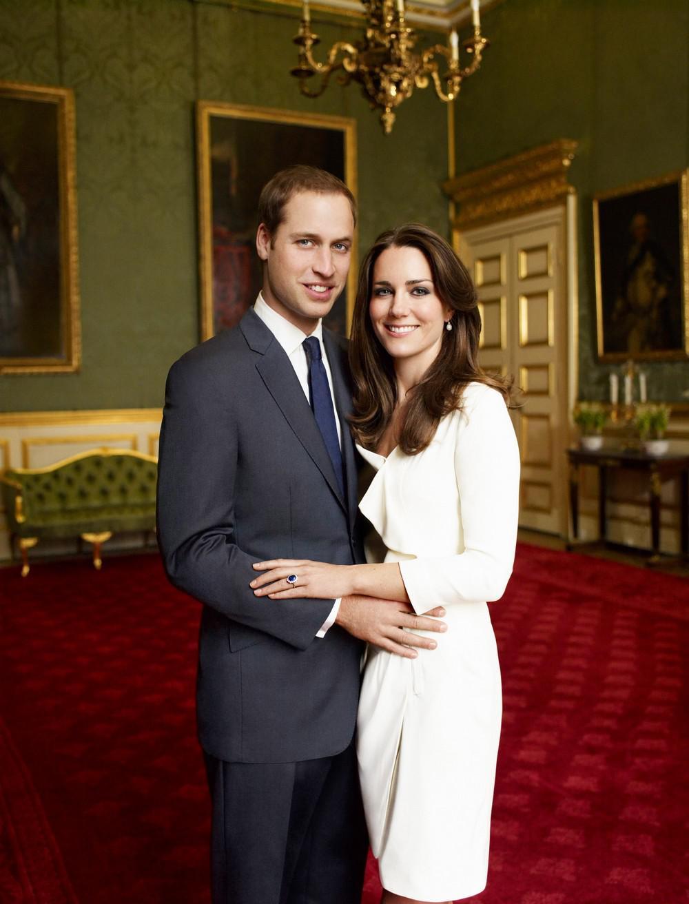Oficiální fotografie prince Williama a Kate Middletonové