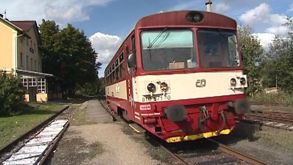 Vlak v Netolicích