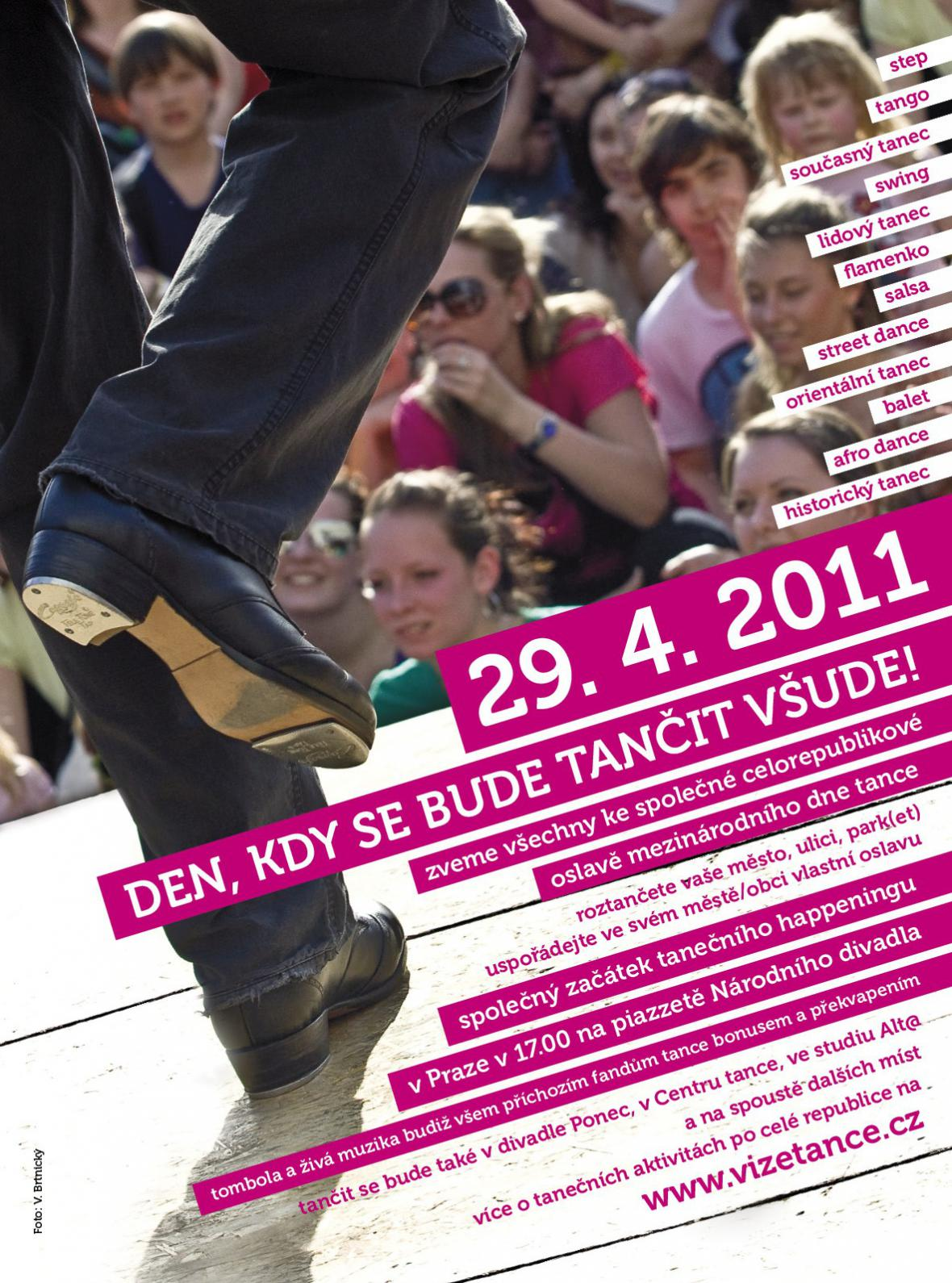 Mezinárodní den tance 2011