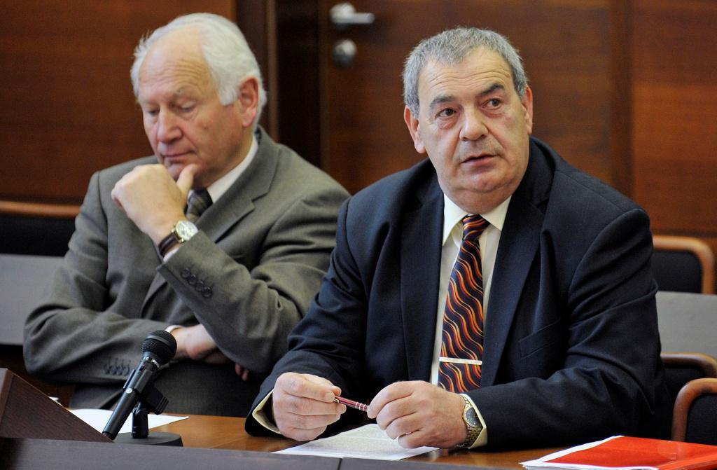 Josef Vondruška (vpravo)
